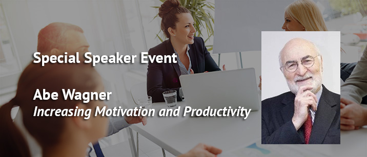 Key executive speaker event with Abe Wagner