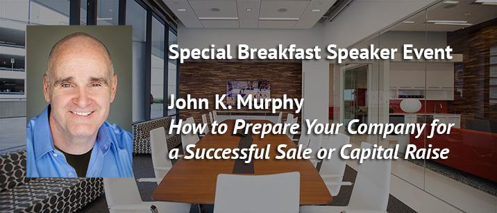 Nov 15 Vistage Speaker Event John K Murphy