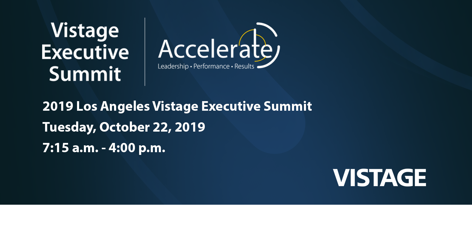Los Angeles Vistage Executive Summit
